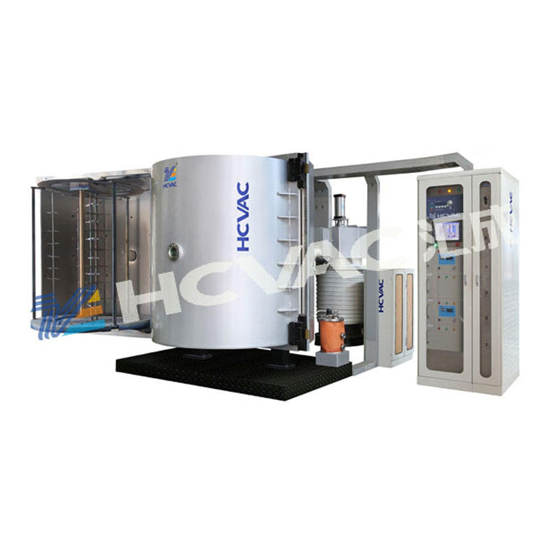 HCVAC Decoratieve Plastic Chrome Plating/Magnetronsputteren Metalliseren/Plastic Zilver Vacuüm Coating Machine
