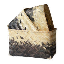 Bamboo weaving storage basket/ cheap weaving laundry baskets