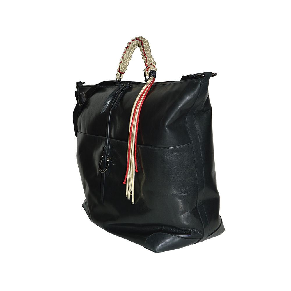 Genuine Leather bag 48H Made In Italy