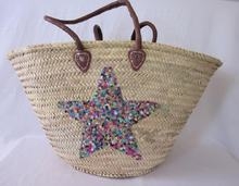 Top Quality of Eco-Friendly Natural Straw And Sequined Baskets