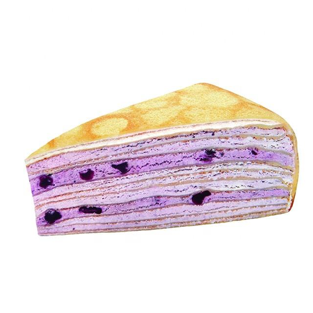 Touched 8 inches blueberry bliss mille Crepe Cake