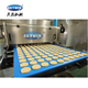 Stainless Steel Seimens PLC Cookie Depositor Machine Small Biscuit Cookie Machine