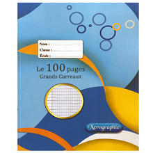 100 Pages French Rule Exercise Notebook