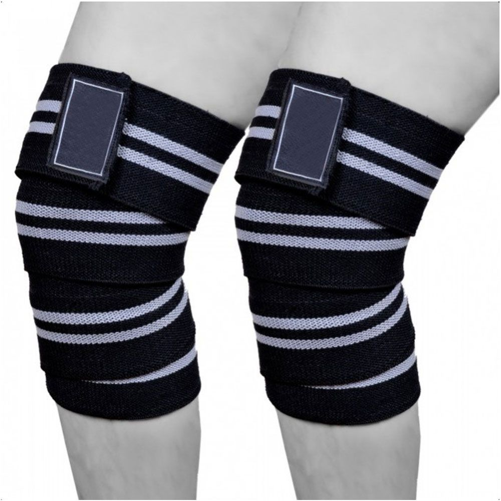 Weight Lifting Knee Wraps Supports Gym Training