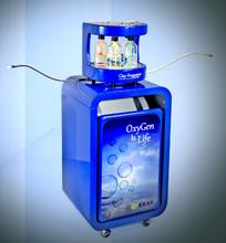 Nasal oxygen cannula free oxygen concentrator portable oxygen bar with aroma station for 2 users made in Italy OXYFRAGRANCE