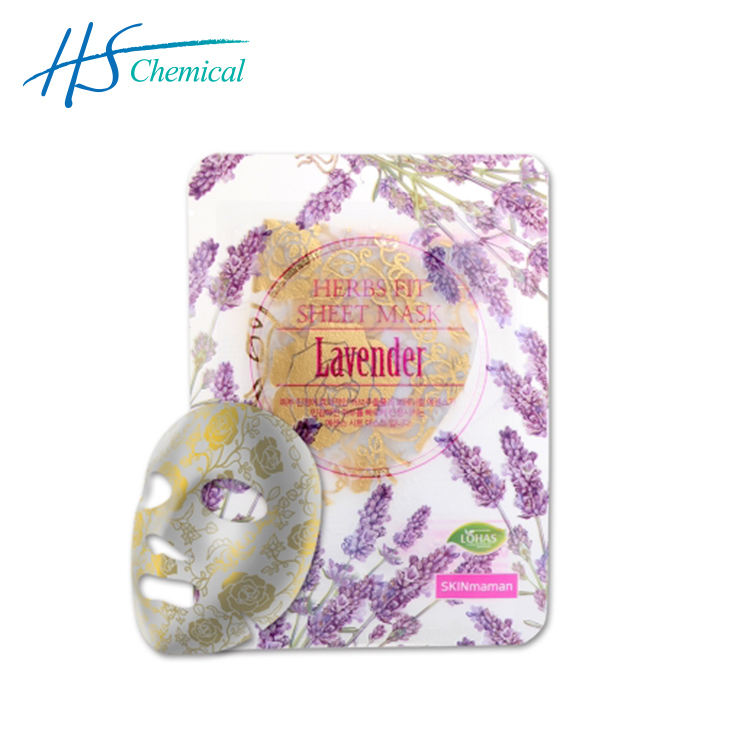 """HERBS FIT SHEET MASK 25グラム (Rose Gold Foil Sheet)"" - Lavender"
