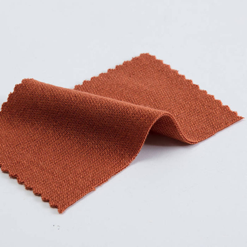 Thicken double side knitted 50% acrylic 50% rayon blend cashmere like fabric