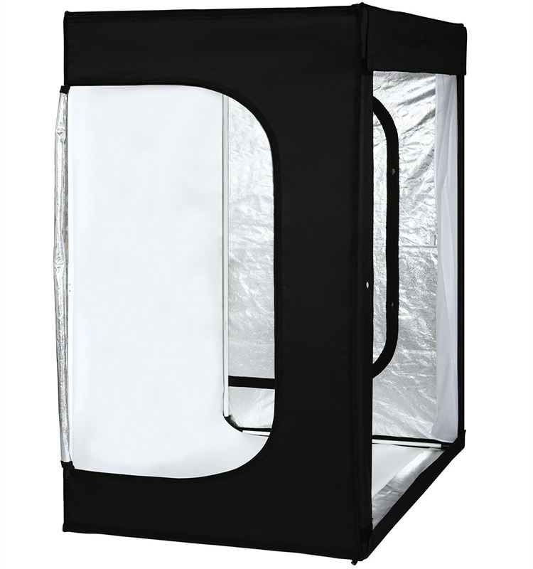 120*100*200CM Portable Table Top Photography LED Light Shooting Tent Box Kit/PhotoとStudio 3 Colors Backdrops