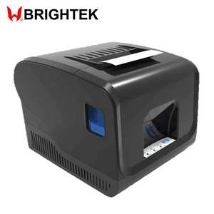 WH-P12 80 Mm Desktop Printer Thermal dengan Cash Register Internet Serial Port Antarmuka USB untuk Menerima Label Barcode Tagihan Cetak