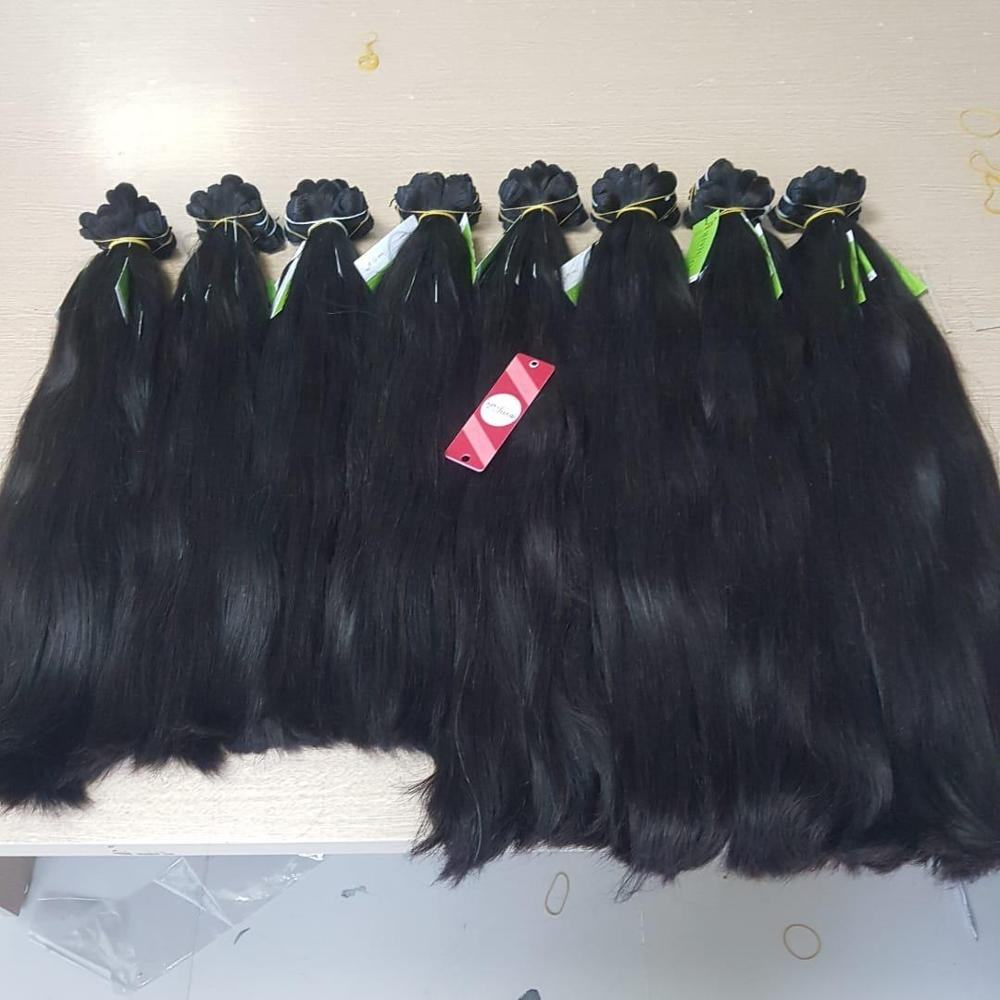 Wholesale Vietnamese 6-32 zoll 100% Remy Human Hair Full Color Silky Straight Hair Weft