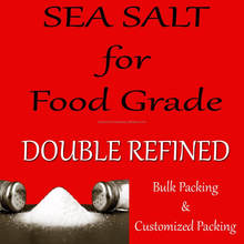 SEA SALT NATURAL (Double refined Salt) FOOD GRADE SALT