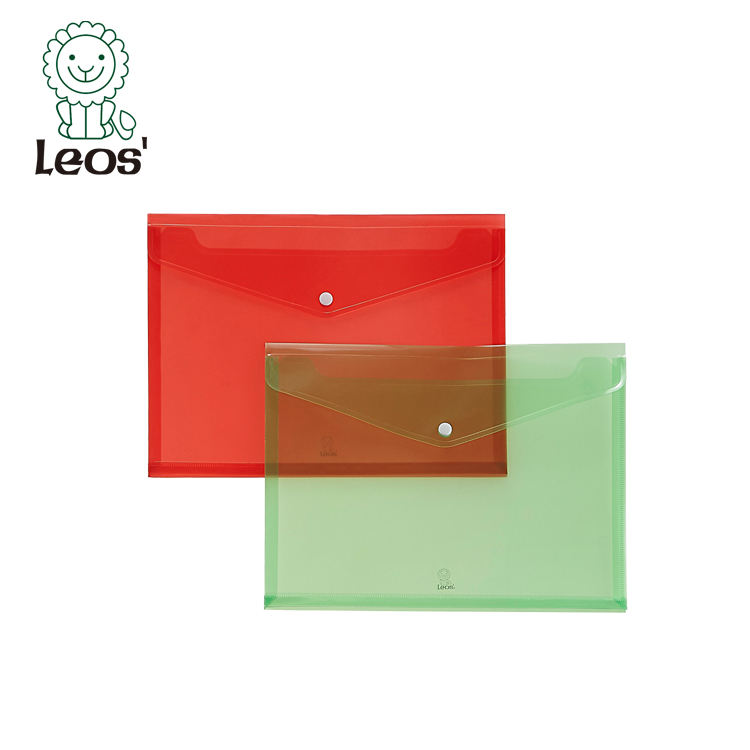OEM School Stationery Plastic A4 Document Wallet