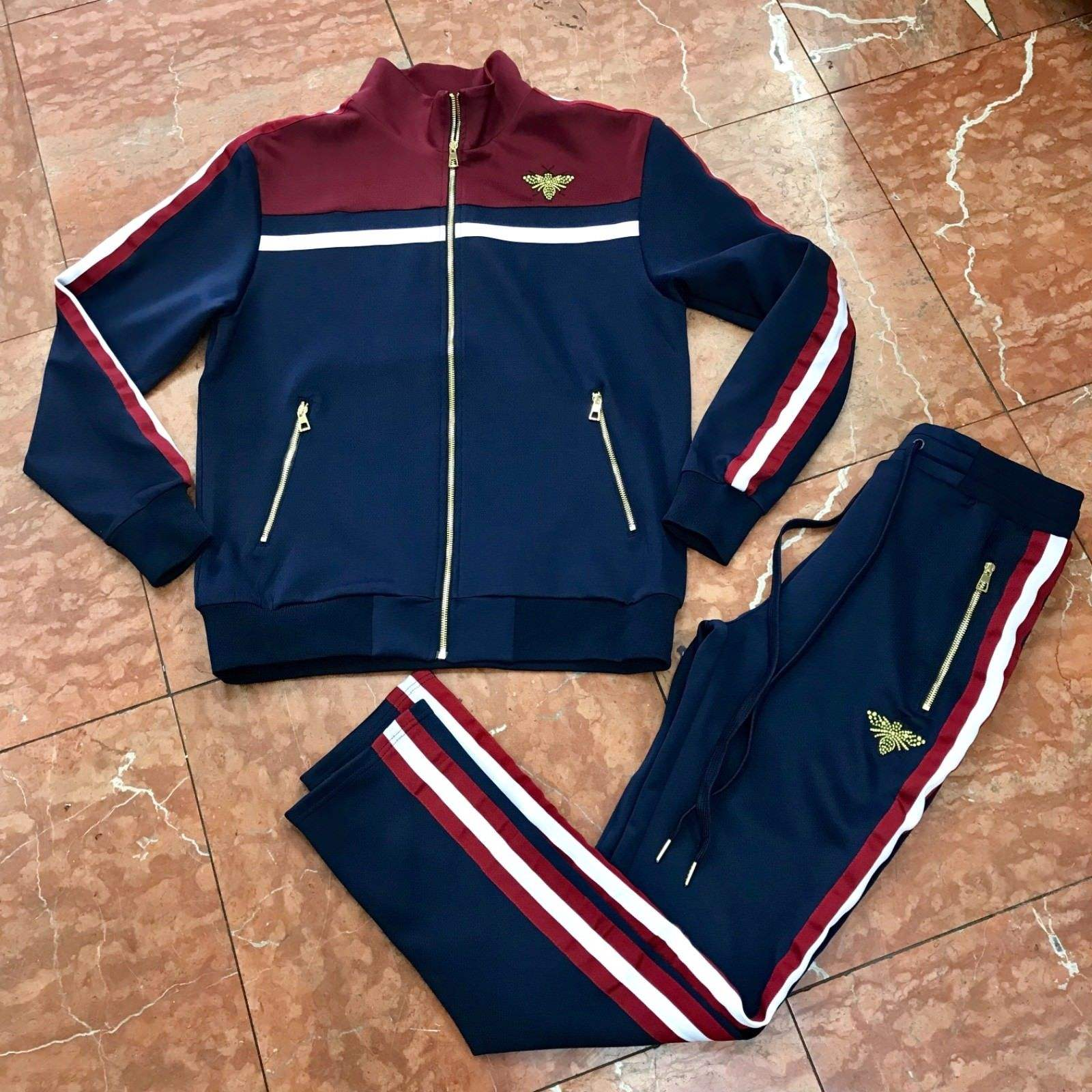 Logo Design Printed Sweatsuit/ High Quality Full Customization Tracksuit/Wholesale Custom Brand Jogging Suit