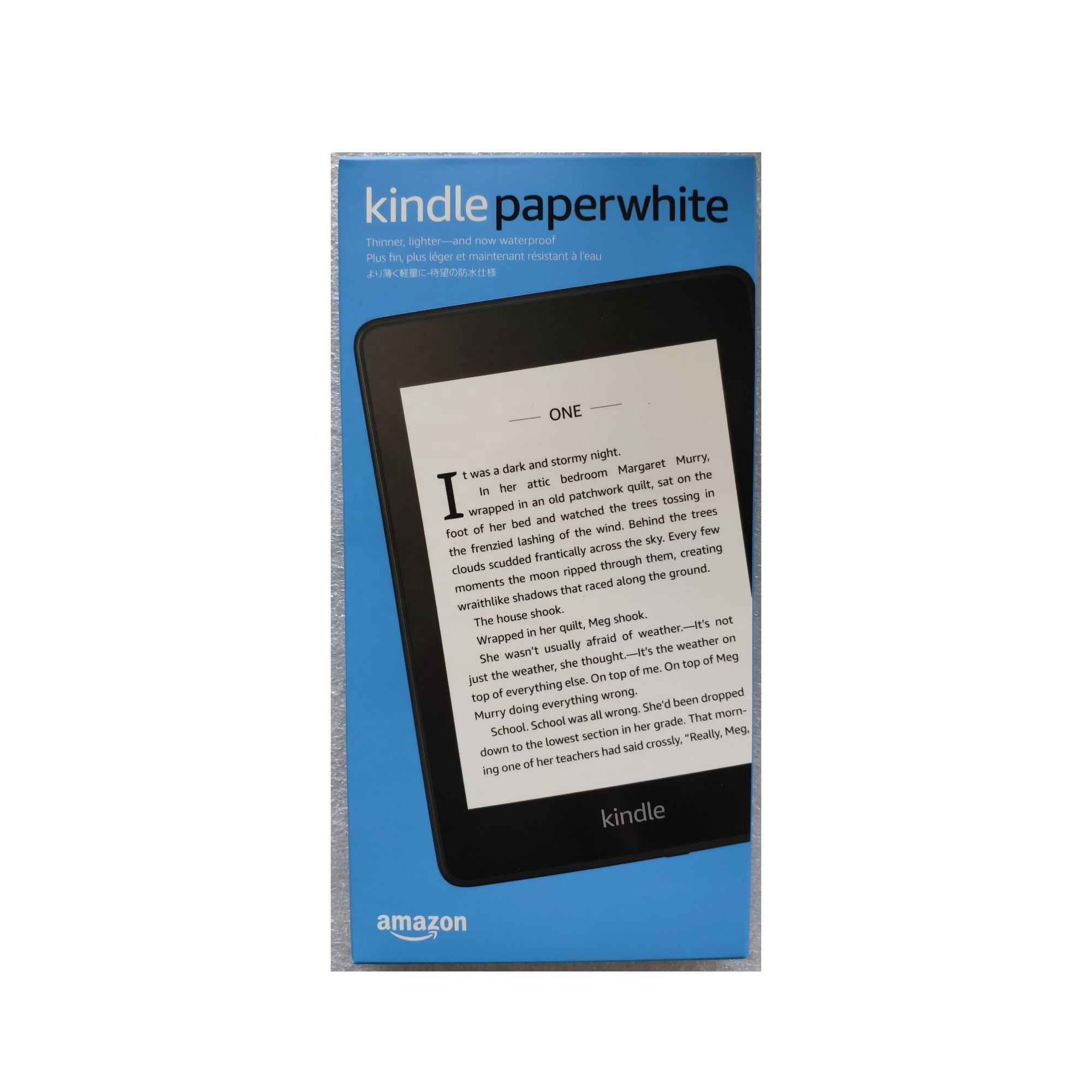 Amazon All-New Kindle Paperwhite 4 Gen (Kindle 10 gen) Waterproof 8GB 32GB e-reader Wholesales Electronic Books reader Kindle