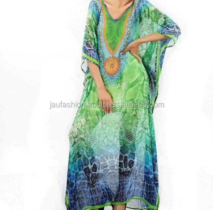 Designer Moroccan beaded kaftans / Wedding stone work Kaftans / Moroccan Crystal Stones wedding Kaftan