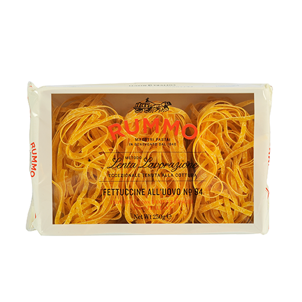 Fettuccine all'uovo Italian Pasta | High Quality Pasta | Rummo | Gr. 250
