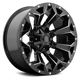 17 inch ASSAULT mate Black with Milled Accents - Angle View 2019 wheels for sale alloy wheels