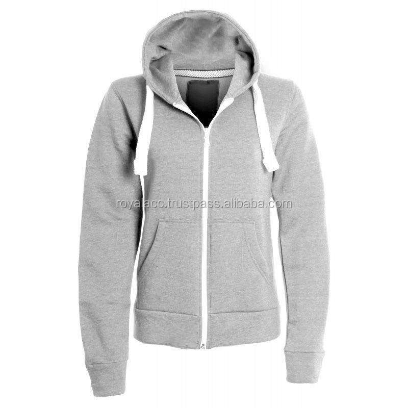 customized cotton printing fleece hoodie with zipper/pullover