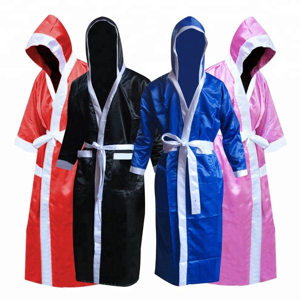 2019 Wholesale Boxing Robe Sublimated Custom Color Custom Made Boxing Robe