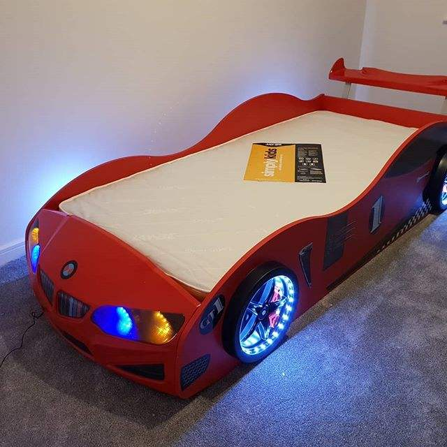 BMV shaped Car bed for Children rooms - race car bed - supercarbeds