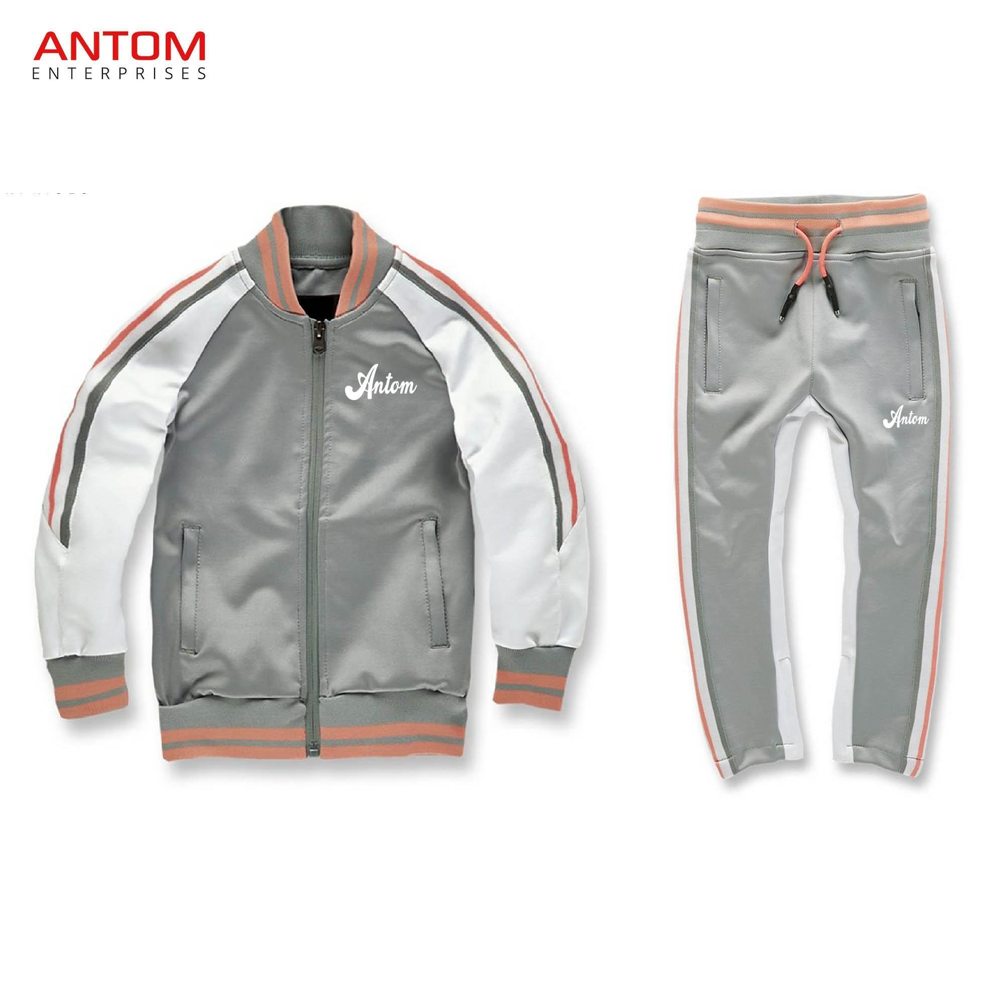 High Quality 100% Cotton Fleece Tracksuits / Custom Sublimated Tracksuit Made by Antom Enterprises