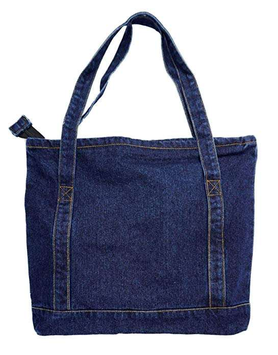 Denim Handtas-Hot Koop Fashion Dames/Vrouwen Denim Tote Handtassen