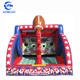 First down inflatable football throw game interactive carnival battle up games for party rental