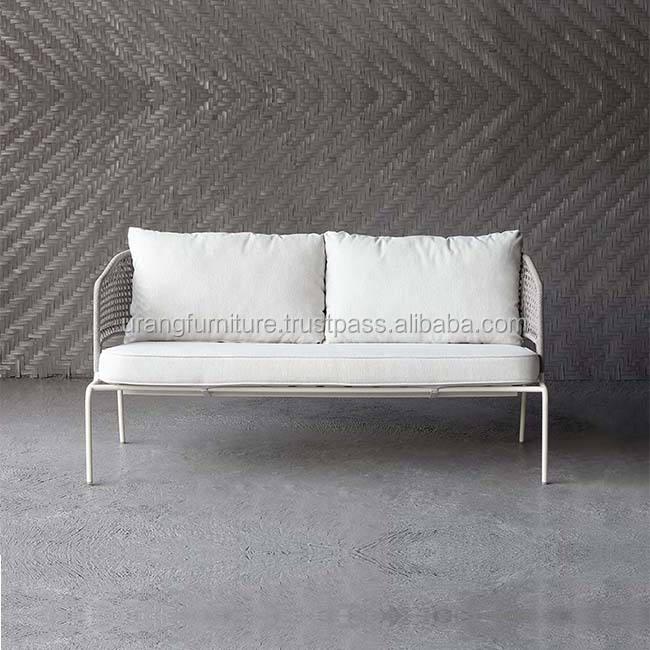luxury modern european sofa set rope outdoor sofa modern set design outdoor furniture