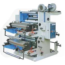 Low Price Automatic 2 Color Flexographic Printing Machine / Flexo Printing Machine