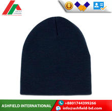 Flat knitted beanie hats One size fits all beanie hat Best Prices superior quality winter banie cap directly sale