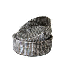 Simple design seagrass storage basket