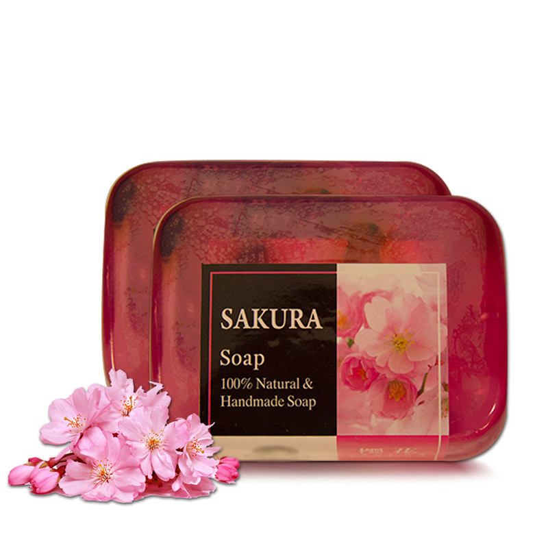 100g Acne and Melasma Solutions Cleansing Face and Body SAKURA Soap
