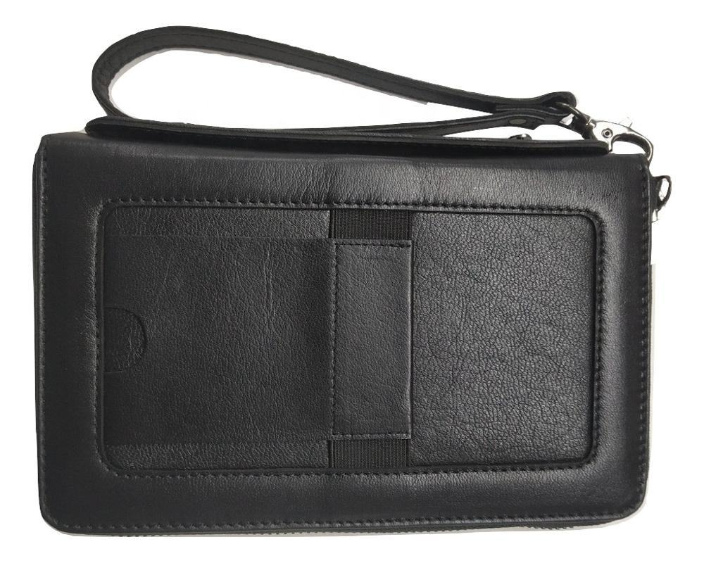 Genuine Leather Mobile Wallet