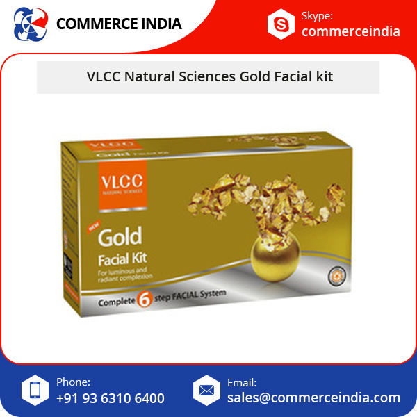 VLCC Natural Sciences Gold Facial Kit/Facial Kit International