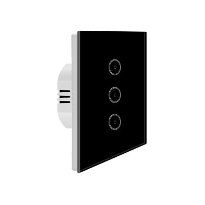 Xenon SM-SW101-2 EU Standard Wall Switch remote Control Easy Install jinvoo free app voice control black color