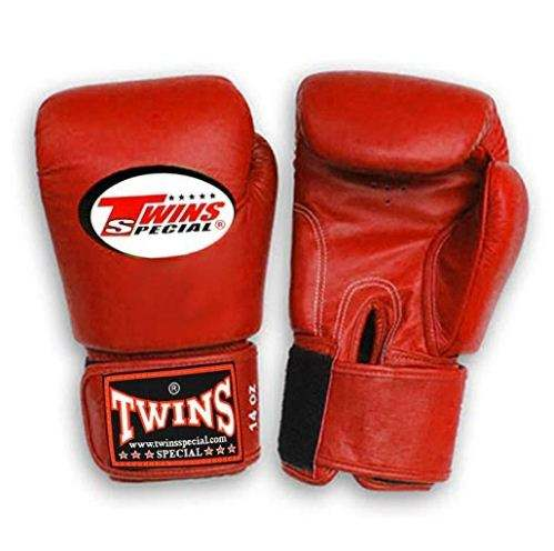 TWINS red Boxing Gloves Custom logo boxing gloves