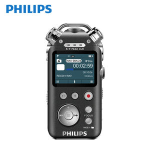 PHILIPS 16GB 1080 Hours Continous Recording and 100 Meter Long Distance Hot Wireless Spy Digital Voice Recorder