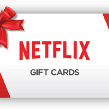 Netflix $15 Gift cards- Email Delivery