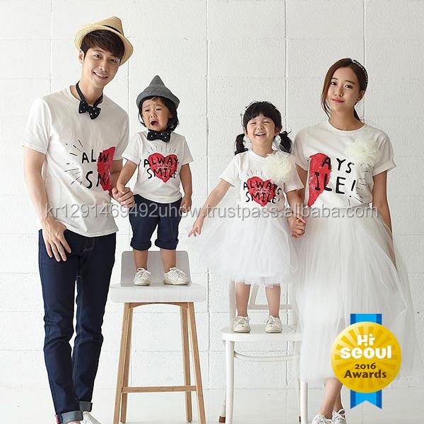 monfimafi Baby Boys Couple Heart Family Short T-Shirt