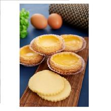 Malaysia Halal Frozen Food Wholesale Traditional Chinese Breakfast Dim Sum Egg Tart Skin