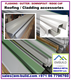Flashing / Angles/ Gutter / Channels/ RIDGE/ downspout/ Corner Flashing/ Gable Flashing/ Eves Flashing/ Apex flashing - Dubai