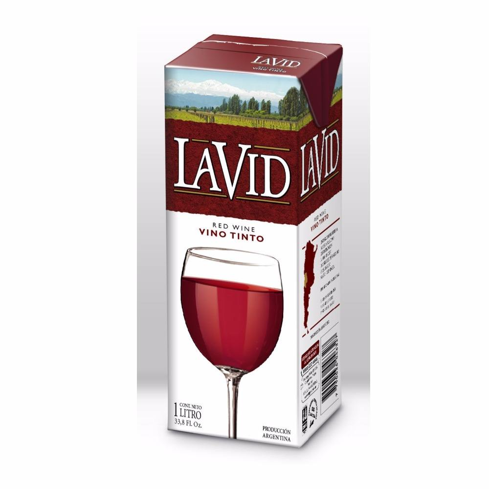 Table wine - LA VID Red Wine - Envase de Tetra Pak