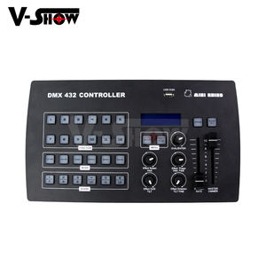 Hot sale Mini function DMX Controller 432 channels control up to 12 individual fixtures including USB disk for stage lighting co