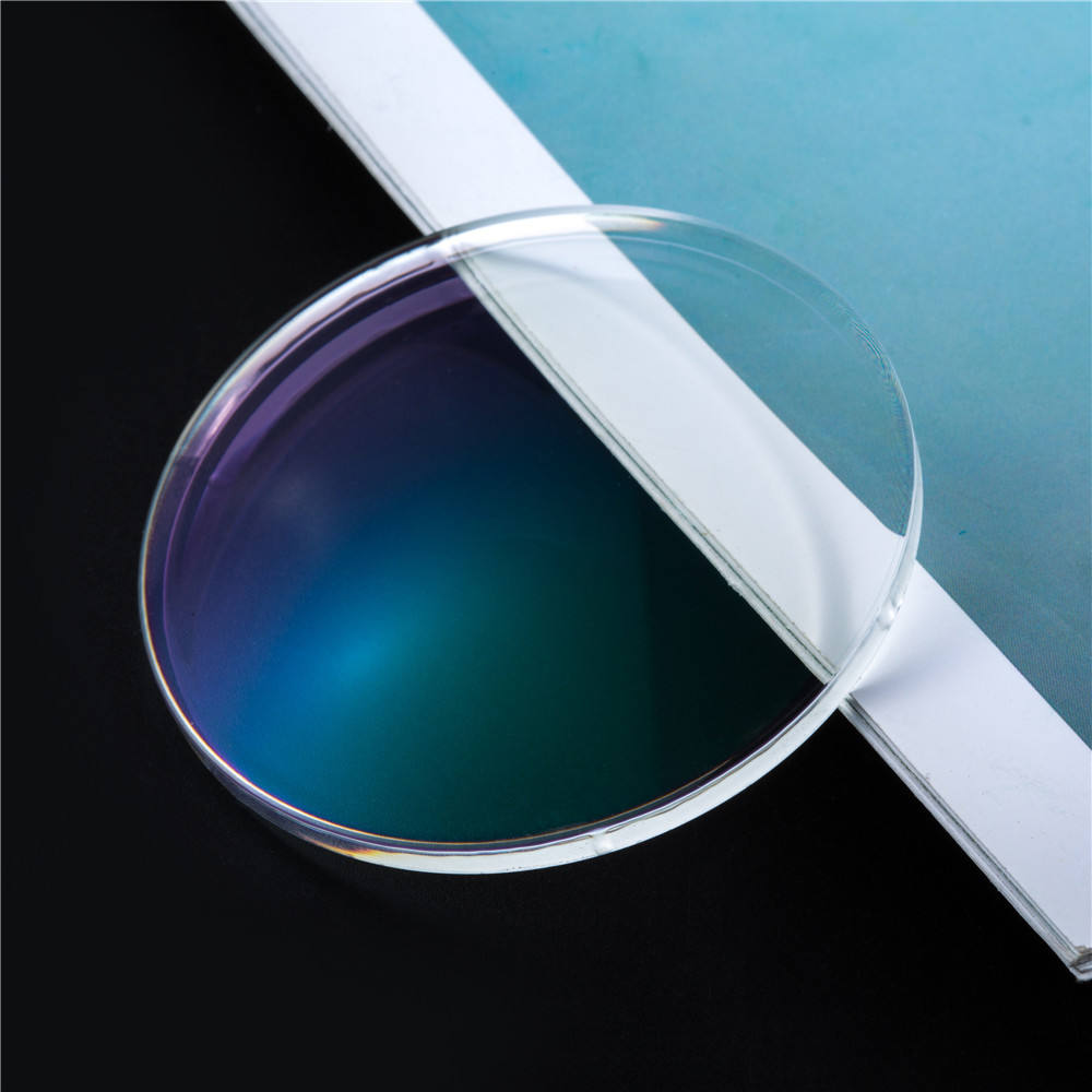1.56 EMI HMC BLUE CUT UV420 Monomer NK 55 Resin Eyeglass Lenses