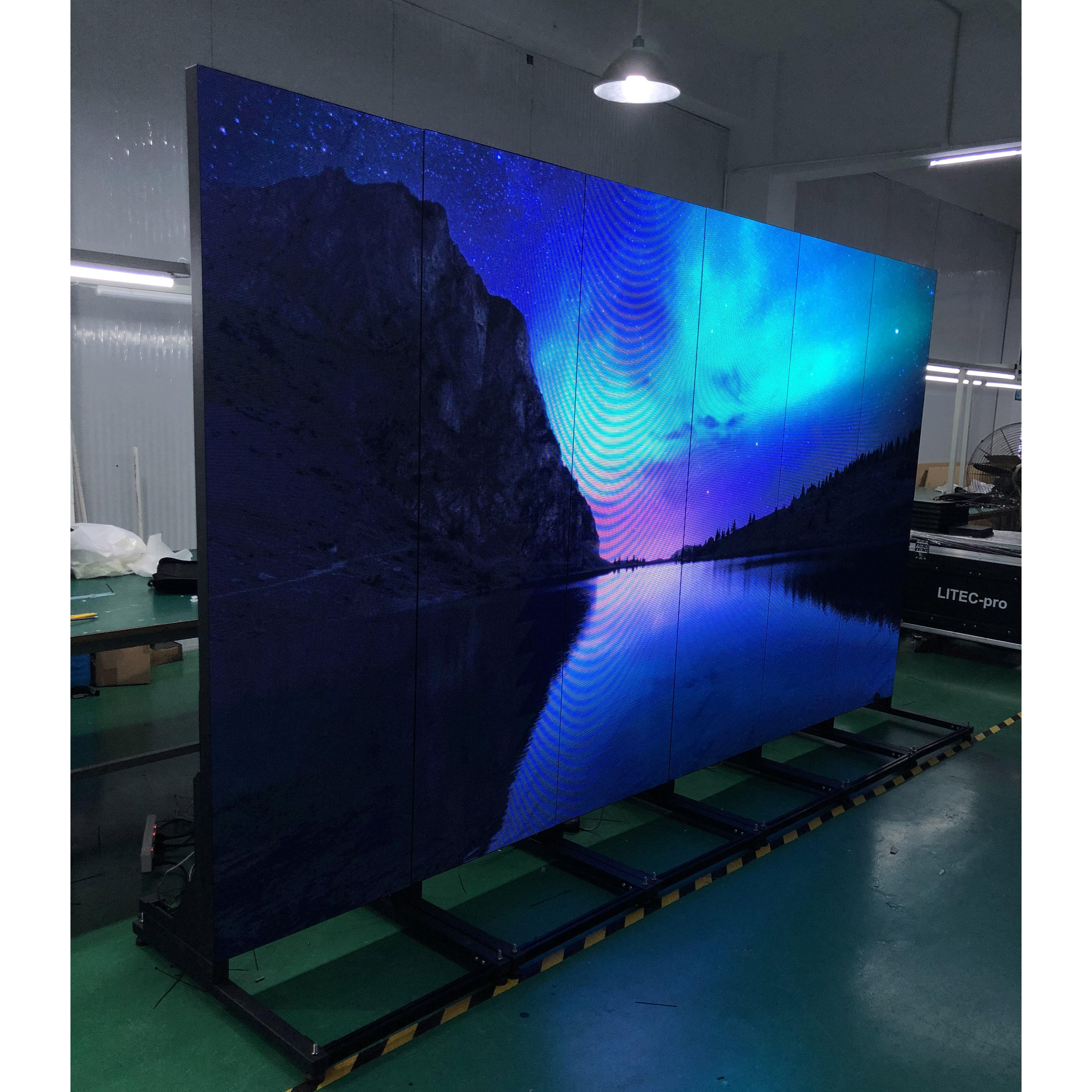 DJ Booth DIY LED Display Screen 16:9 Ratio P3mm LED Poster for Rental