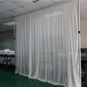 Pipe and drape wedding backdrops blackout curtain fabric for wedding and event