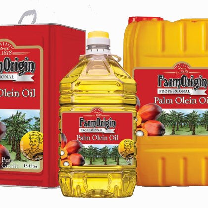 Wholesale FarmOrigin Brand 5 litres 100% Pure Vegetable Palm Cooking Oil