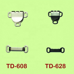 TD-608/628 spring skirt hook, Eco-friendly nickel free lead free