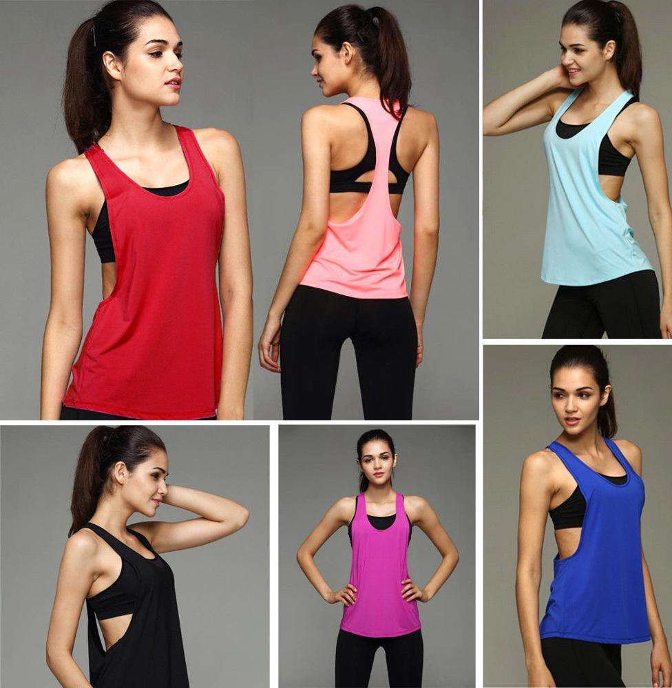 Cheap Wholesale Womens Custom Printed Poly-Cotton Burnout tank top,