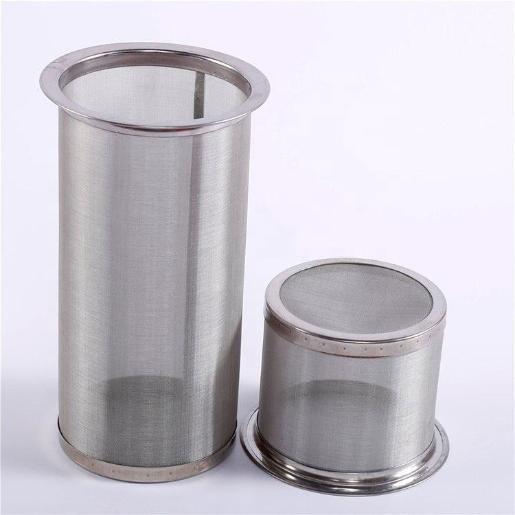 high quality stainless steel dutch weave mesh cold brew coffee filter
